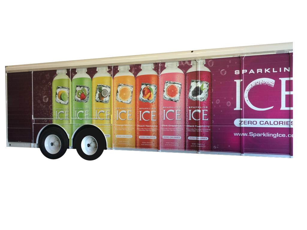 Sparkling ICE Truck