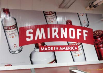 Smirnoff Wall