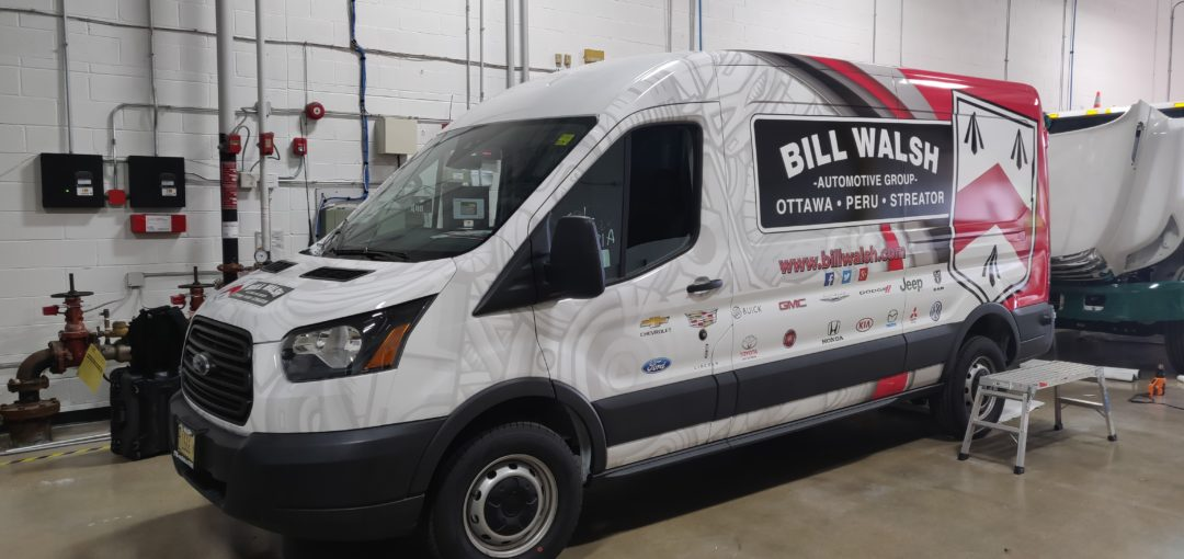 Ford Transit Full Wrap