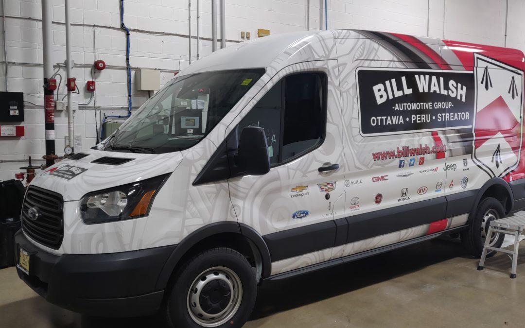 Ford Transit Full Wrap