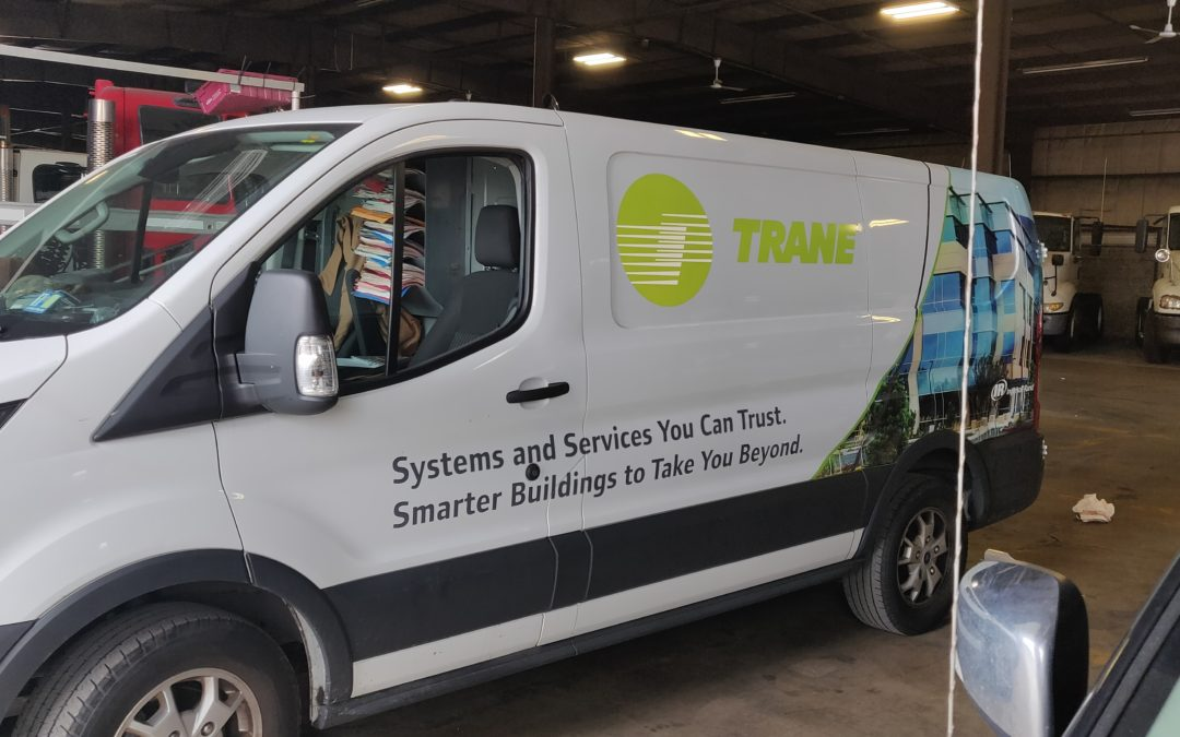 Trane Vehicle Wraps