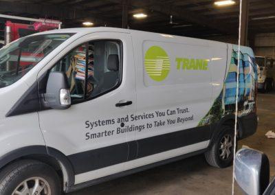 Trane Vehicle Wraps