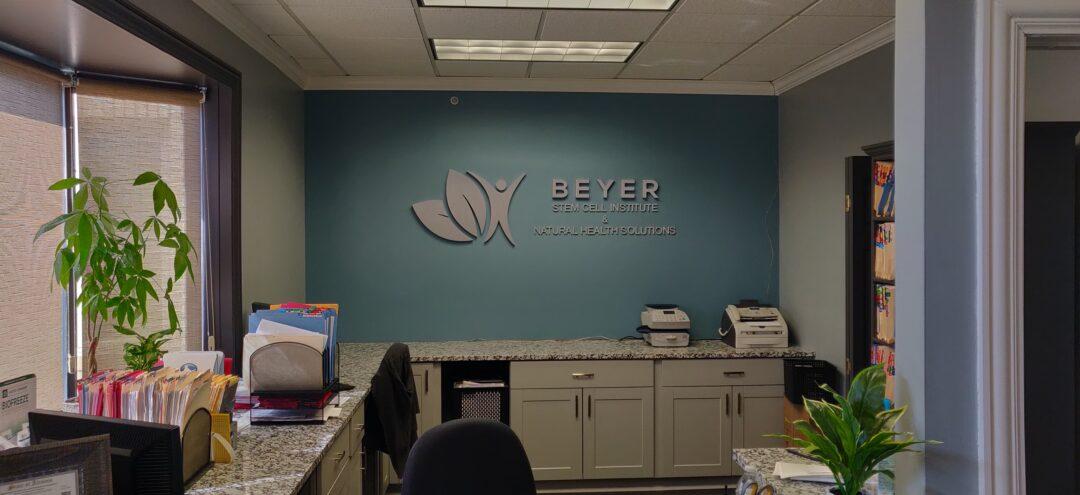 Logo Install on wall