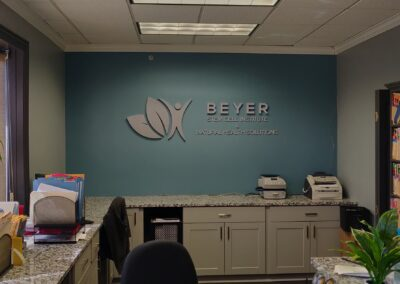 Logo Install on wall