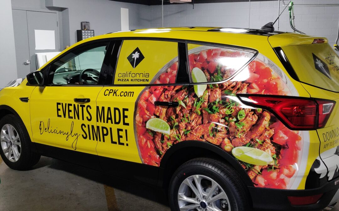 CPK Full Vehicle Wrap