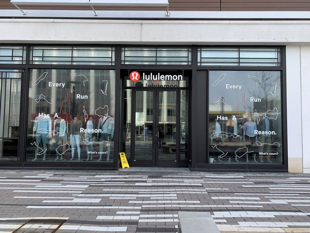 Lululemon Windows