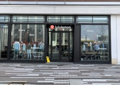 Lululemon Windows